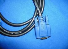 Sample 2 D-SUB Cable VGA, 1394 Cable