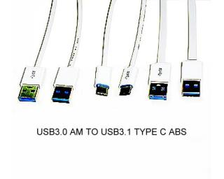 USB 3.0 AM TO USB 3.1 Type Cable